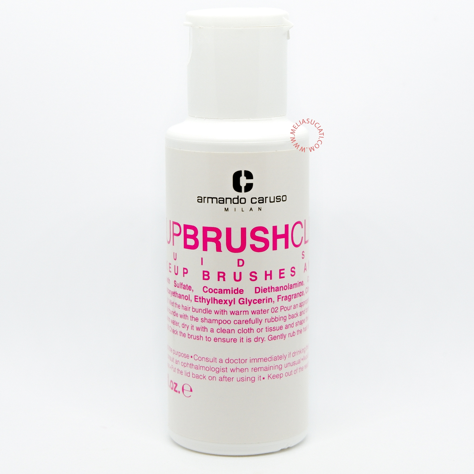 MAKEUP BRUSH CLEANER LIQUID SOAP BY ARMANDO CARUSO