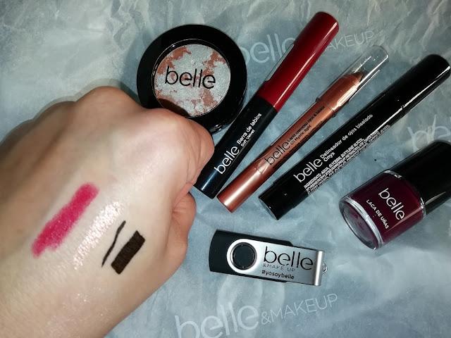 belle makeup