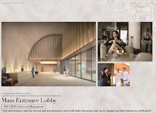 Main lobby Branz Mega Kuningan