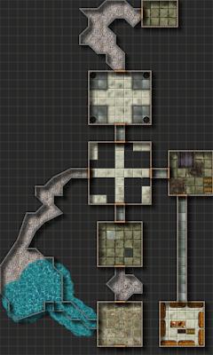Mapas Rol Mazmorra dungeon DragonCry