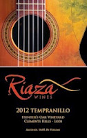 bottle shot of Riaza Wines 2013 Tempranillo