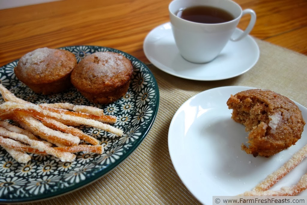 Grapefruit Honey Bran Muffins | Farm Fresh Feasts
