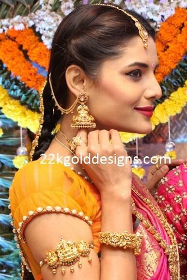 Lakshmi Devi Bajuband 22kgolddesigns