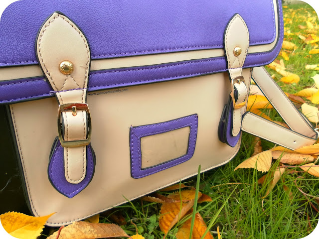 The Paddington Bag by LYDC in Purple