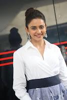 Rakul Preet Singh looks super cute in White Shirt and Skirt at Jaya Janaki Nayaka press meet 10.08.2017 020.JPG