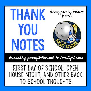 Teacher appreciation and encouragement can be hard to find, so sometimes we teachers just need a little humor to keep our spirits up.  Here are some thank you notes, inspired by Jimmy Fallon, to thank some key people who show up in back to school season.