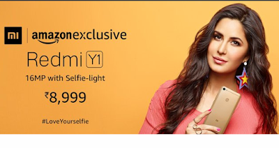 amazon exclusive redmi y1