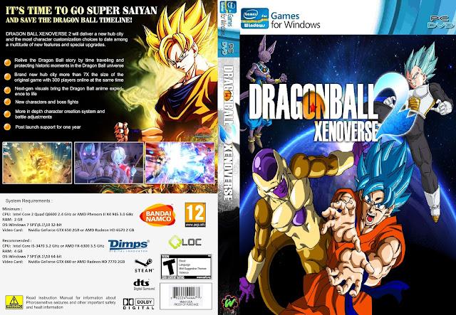 Capa Dragon Ball Xenoverse 2 PC
