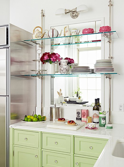 Colorful Kitchen Ideas For Small E Inspired By The Famous Parisian Patisserie Ladurée