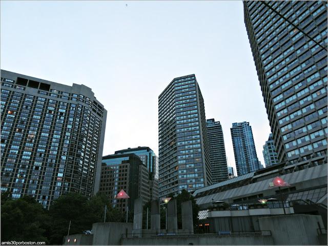 Edificios del Centro de Toronto, Canadá