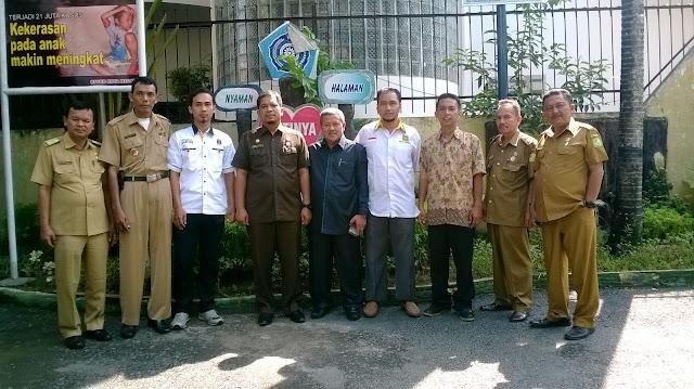 Jalin Komunikasi, PKS Medan Perjuangan Silaturahim ke Camat
