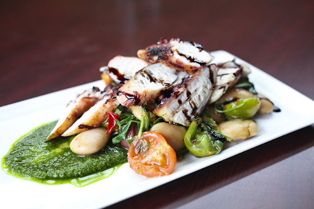 Grilled Octopus from Eleven South Bistro and Bar