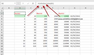 Los Estilos de Celda en Excel
