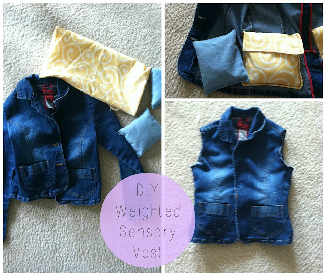 Little Miss Kim S Class Diy Weighted Sensory Vest For
