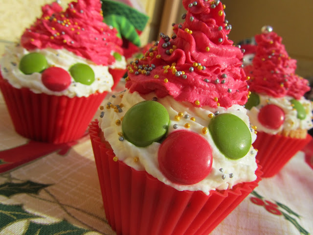 Cupcakes Papá Noel Ana Sevilla