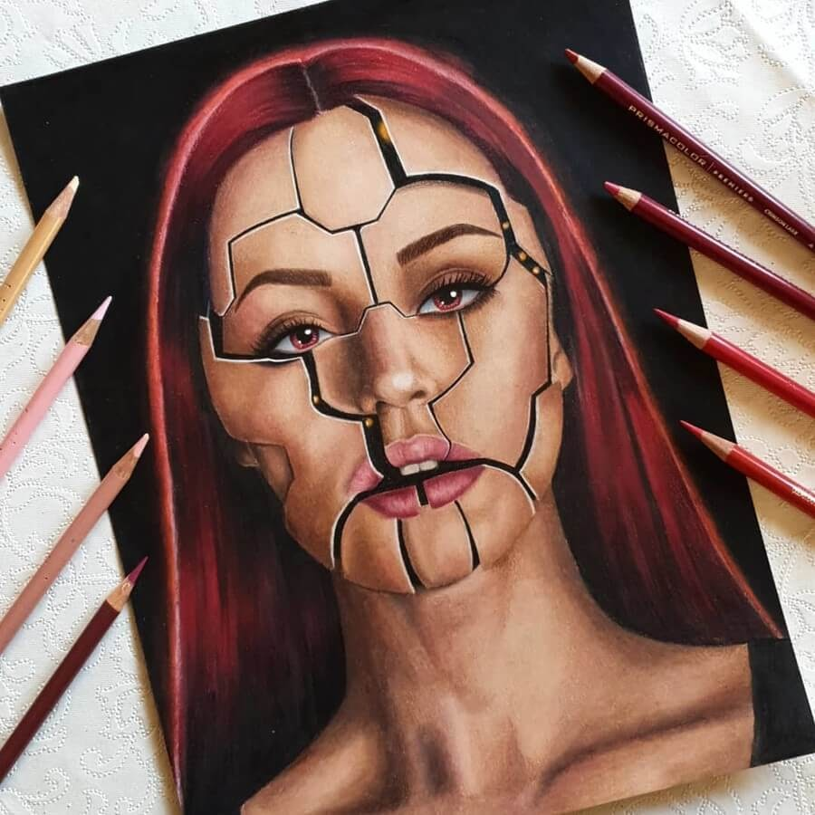 06-Milica-Pencil-Portraits-www-designstack-co