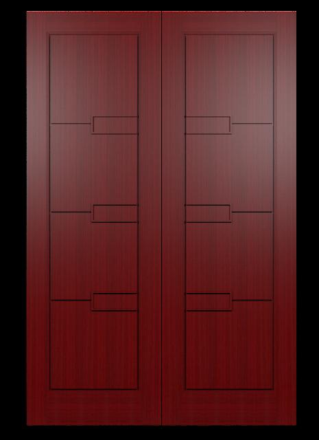 model pintu kupu tarung