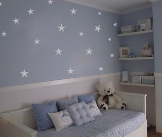 pintura interior dormitorio infantil