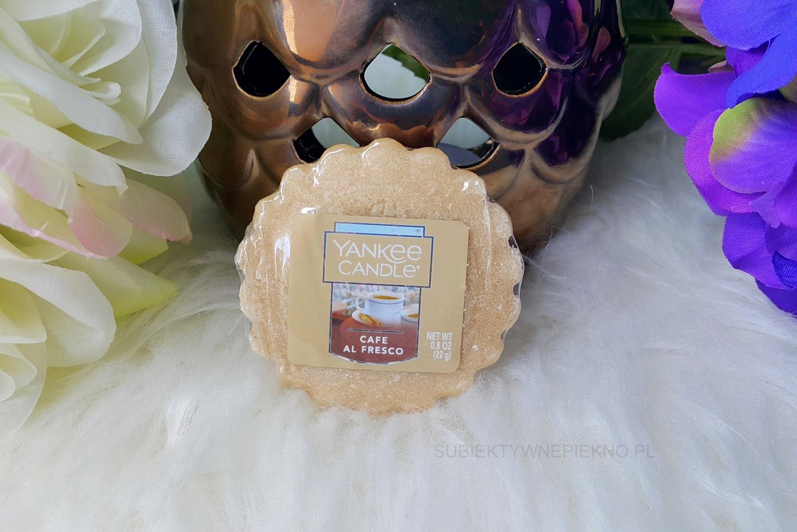 Wosk zapachowy CAFE AL FRESCO YANKEE CANDLE