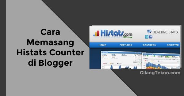 Cara Mudah Memasang Histats Counter di Blogger