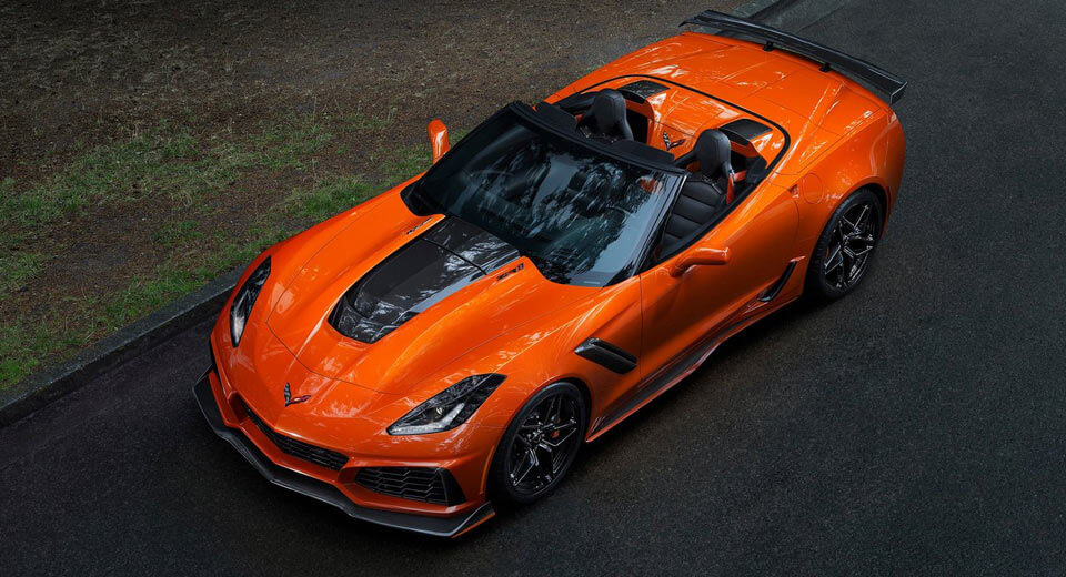 Chevrolet Corvette ZR1 Convertible Drops Top in LA