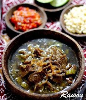 Resep Membuat Rawon Daging Asli Khas Jawa Timur