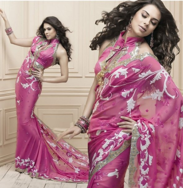 New Fancy Bengali Sarees Collection 2012