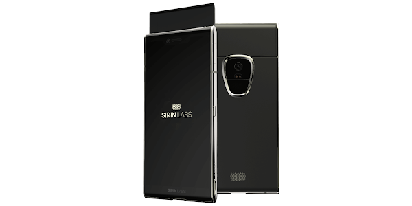 Sirin Finney is the world's first blockchain smartphone