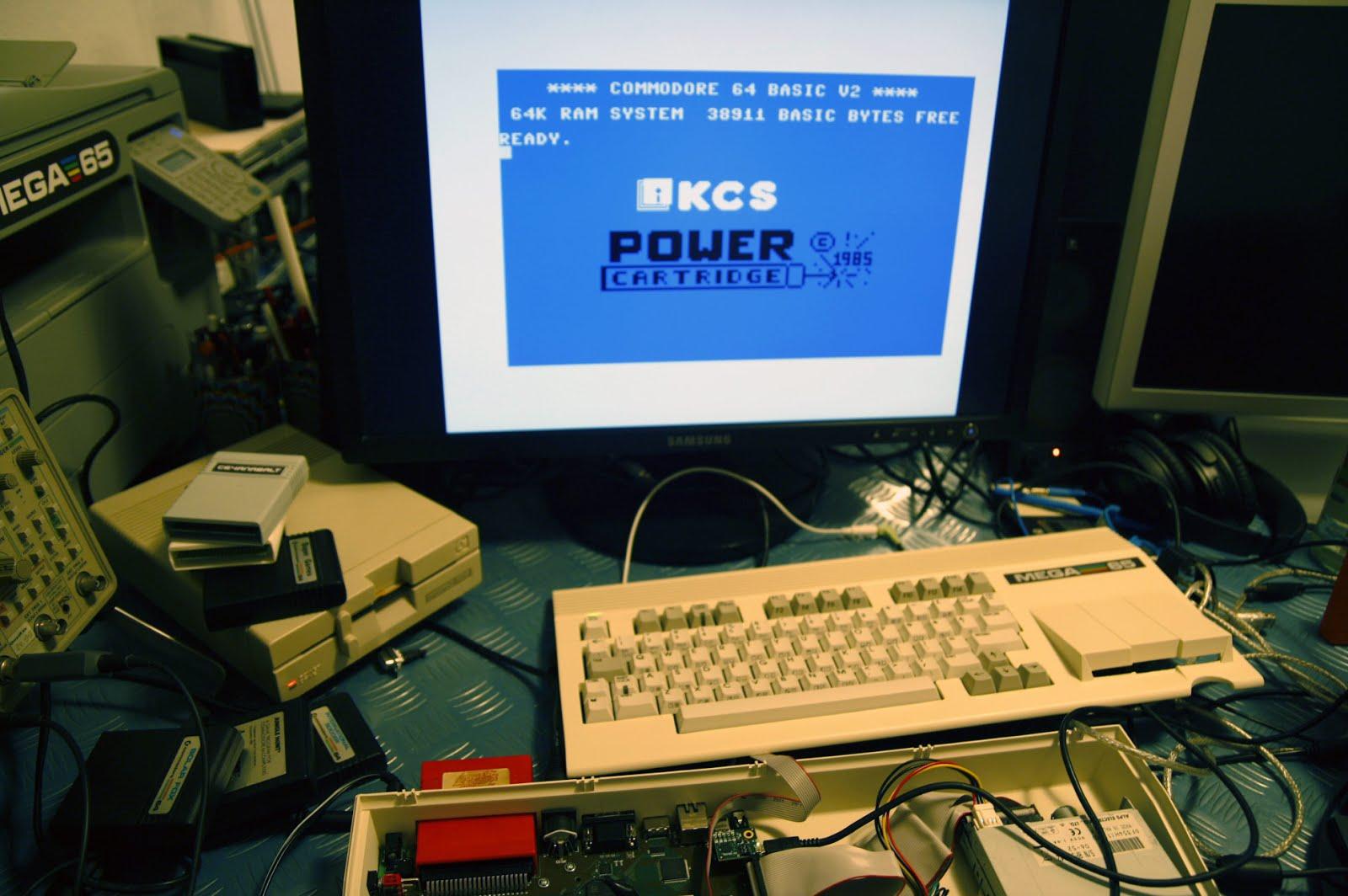Making a C64/C65 compatible computer