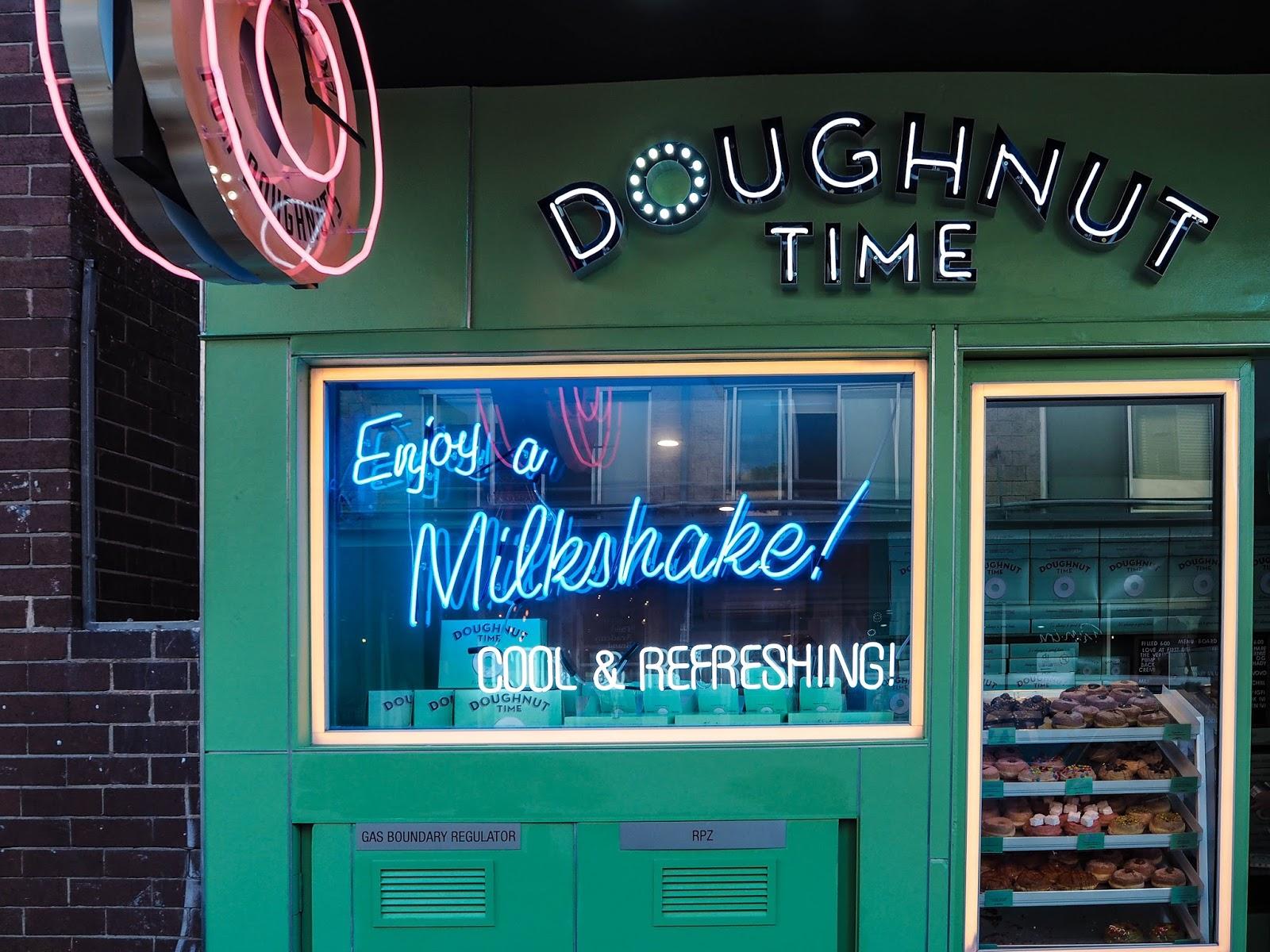 Doughnut Time store front, Bondi