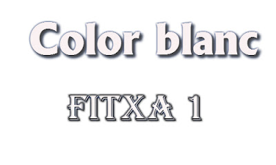 Color blanc (fitxa 1)