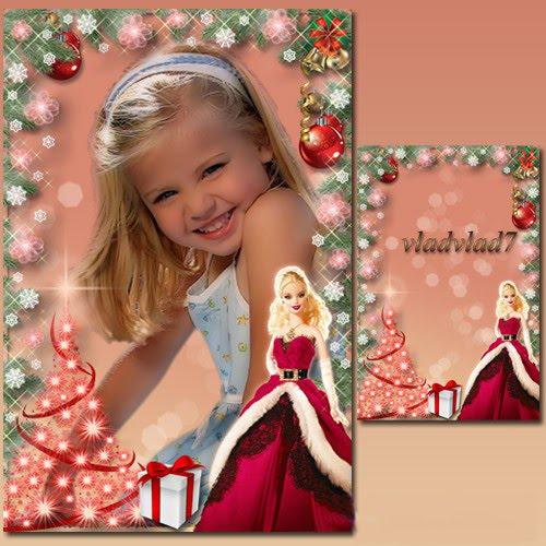 Barbie Photo Frame Zisya Art