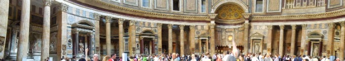 panorama la Pantheon
