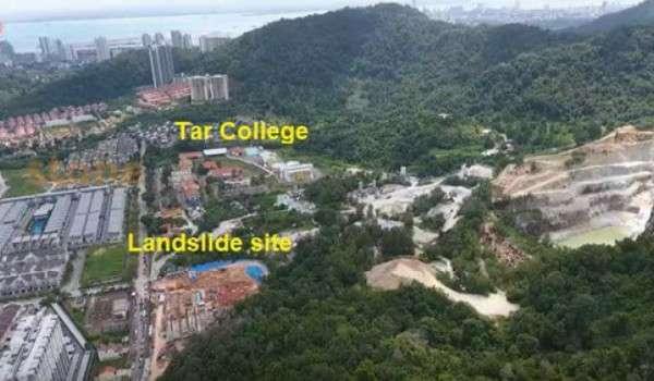 Tanah Runtuh Tanjung Bungah: Kebenaran Pembinaan 3 Tingkat Bangunan KTAR Dijadikan Alasan