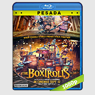 Los Boxtrolls (2014) HD BrRip 1080p (PESADA) Audio Dual LAT-ING