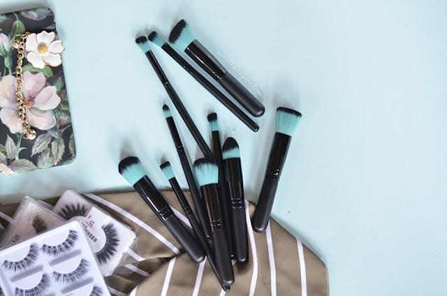 brush makeup lengkap murah, review