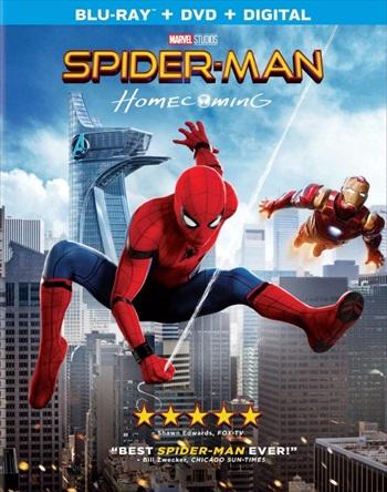 Spider-Man Homecoming 2017 Dual Audio Hindi 720p BluRay 1.1GB