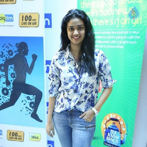 Keerthi Suresh latest photos from 100 ours RJ Marathon event