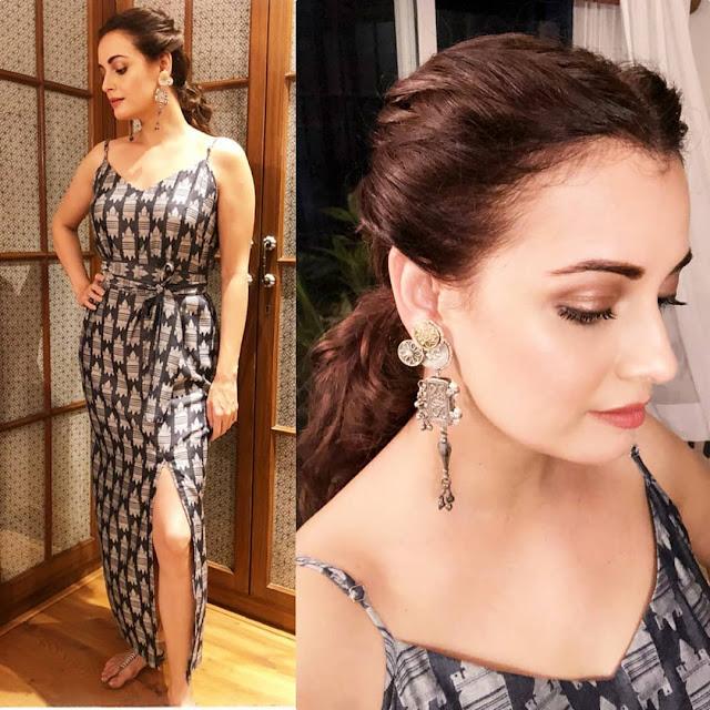 Dia Mirza Looks Stunning in Masaba