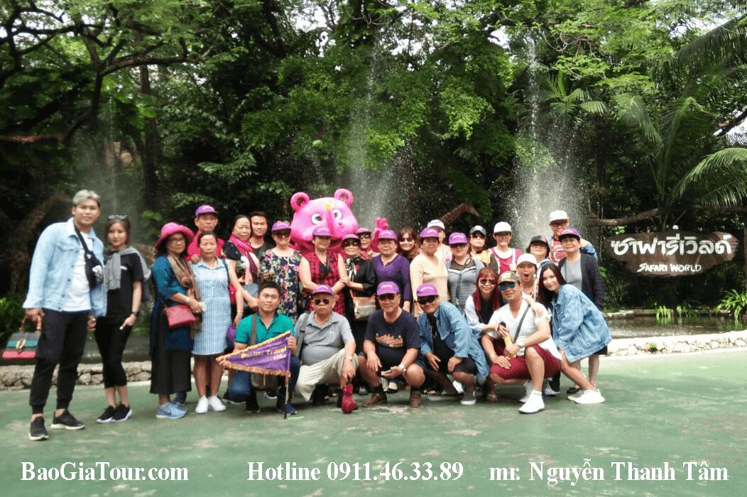 Báo giá tour Thái Lan tháng 11 trọn gói trong 5 ngày 4 đêm