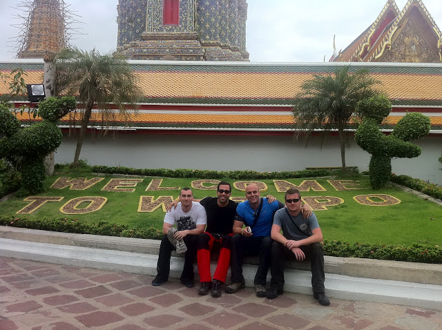 Llegamos a Wat Po