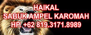 HAIKAL SABUK AMPEL KAROMAH KEBAL SAKTI
