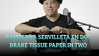 Romper la servilleta en dos, PROPOSITION BET, Brake tissue paper in two