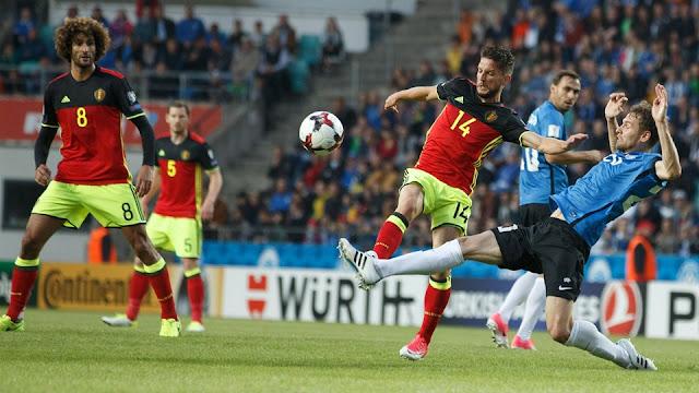Bélgica vence a Estonia en las Eliminatorias Europa Rusia 2018
