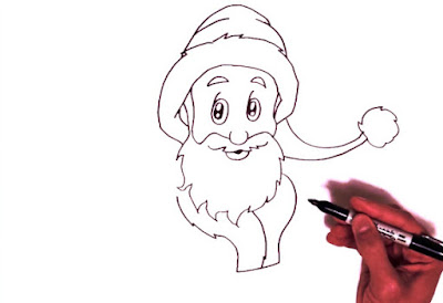 How to Draw Santa Claus Step by Step