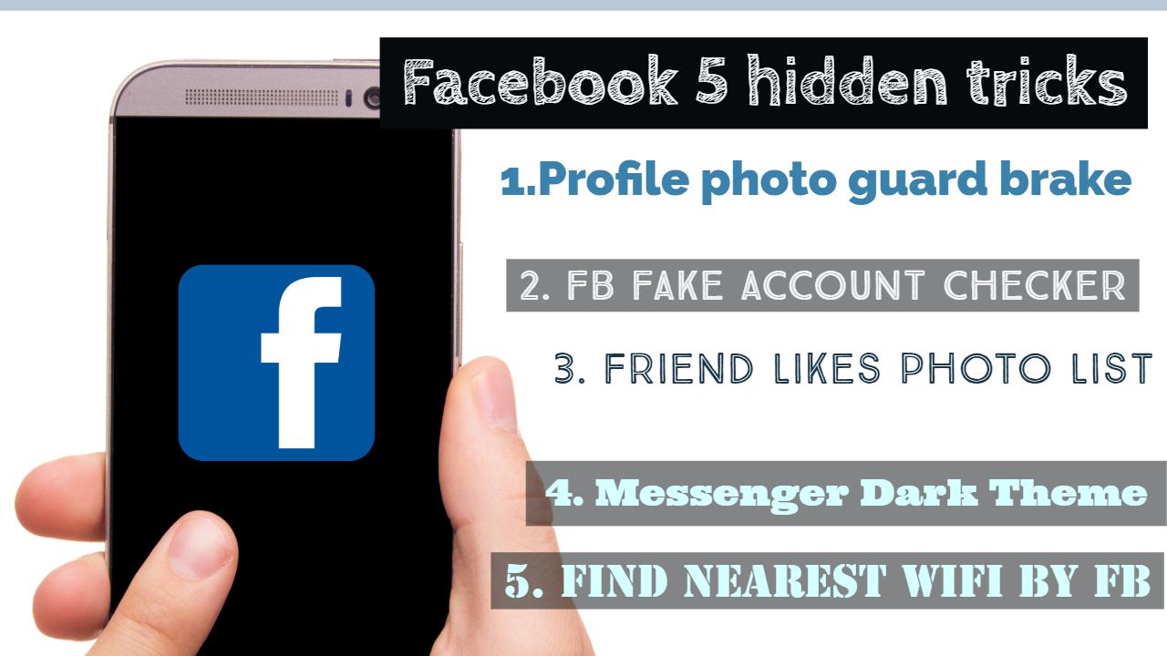 Facebook new 5 hidden tricks » TRONZI