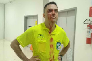 Arbitro é espancado na final do pernambucano