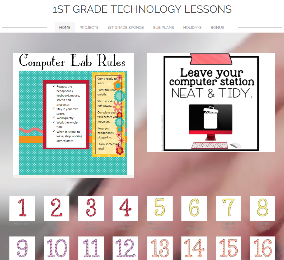 - Technology Teaching Resources With Brittany Washburn: 1st Grade