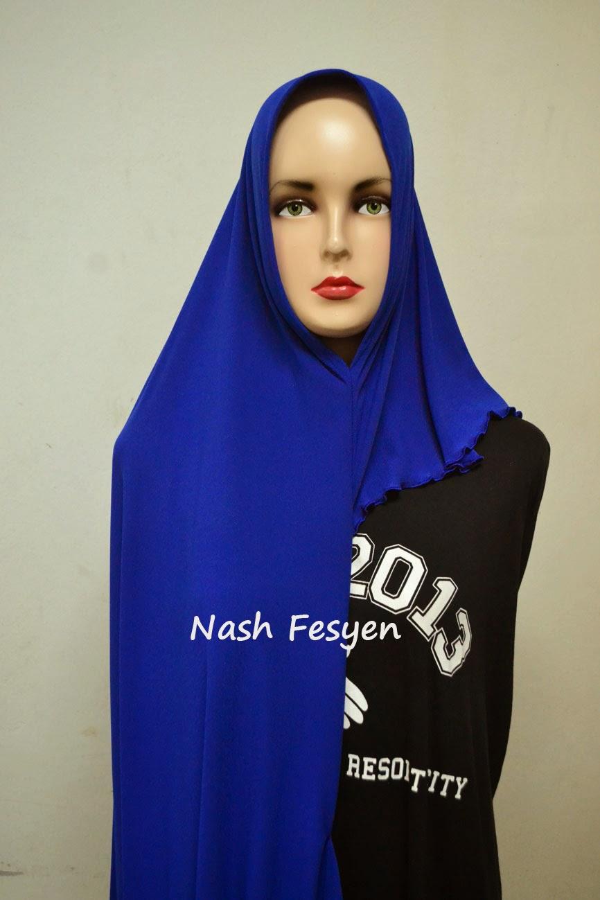 Nash Fesyen Shawl Instant 2 Muka