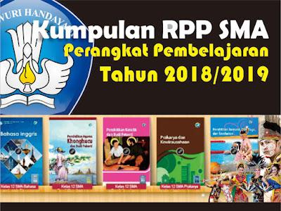 Kumpulan Lengkap RPP SMA Perangkat Pembelajaran  Kumpulan Lengkap RPP SMA Perangkat Pembelajaran 2018/2019